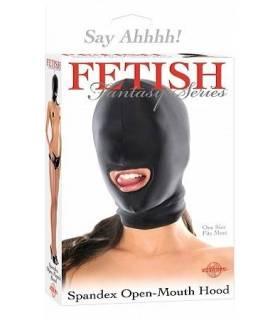 Mascara con abertura en boca ref: