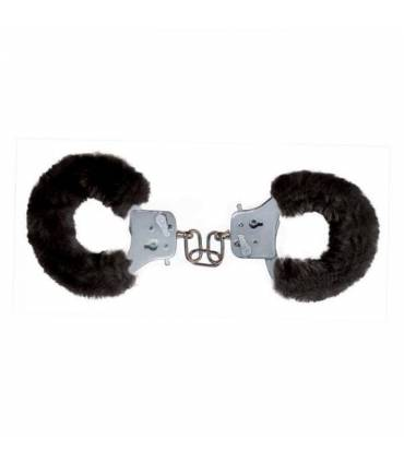 Esposas Toy Joy Furry Fun Cuffs Negro Brutal  ref: