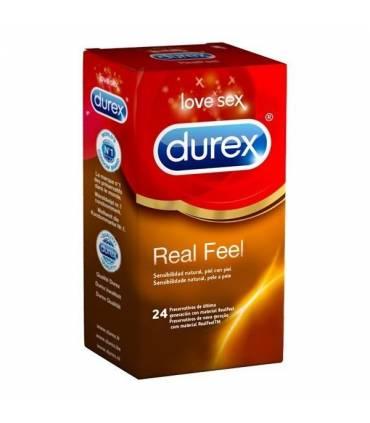 Durex Real Feel sin latex 24 uds  ref: