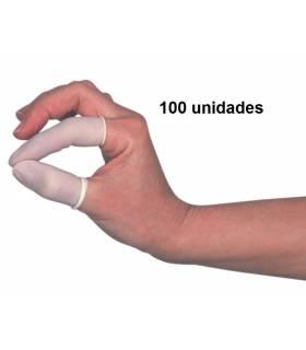 100 Preservativos para dedos