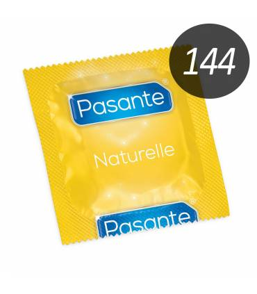 Pasante Condones Pasante Pasante Natural anatómico 144 uds
