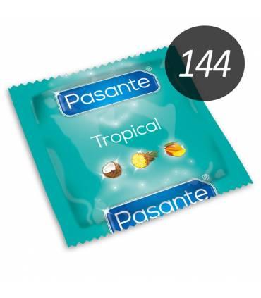 Pasante Condones Pasante Pasante tropical 144 uds