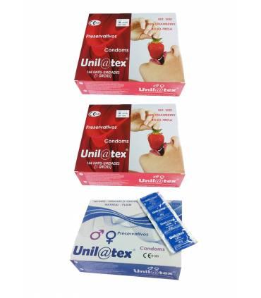 3 cajas Unilatex 144 uds  ref: