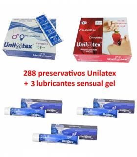 2 cajas 144 uds a elegir + 3 Lubricantes