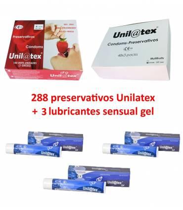 2 cajas 144 uds a elegir + 3 Lubricantes  ref: