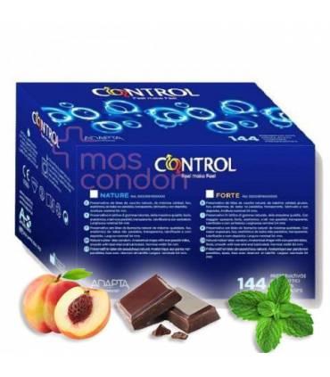 Control Condones Control Control Sabores Fussion 144 uds