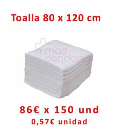 Toallas desechables 80x120 cm 150 und  ref: