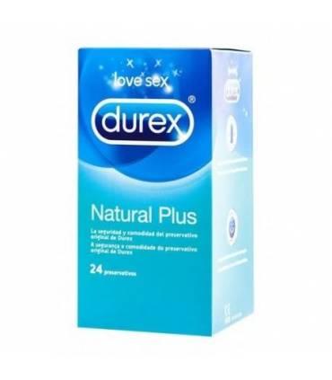 Durex Natural Plus 24 uds  ref: