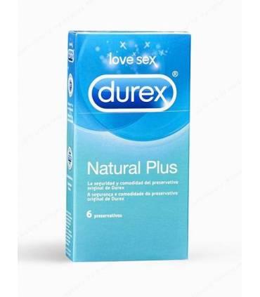 Durex Natural Plus 6 uds  ref: