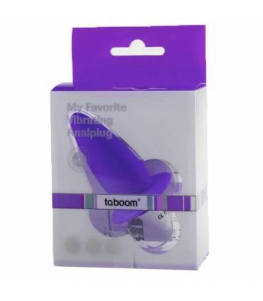 Plug Vibrador Anal Taboom  ref: