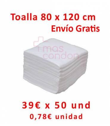 Toallas desechables 80x120 cm 50 und  ref: