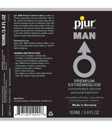 Pjur Lubricante Anal base silicona 100ml  ref: