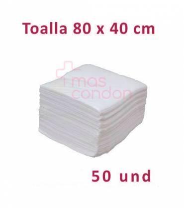 Toalla desechable 80x40 cm 50 und