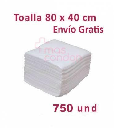 Toalla desechable 80x40 cm 750 und