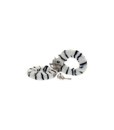 Esposas, Toy Joy Furry Fun Cuffs Zebra Plush  ref: 91