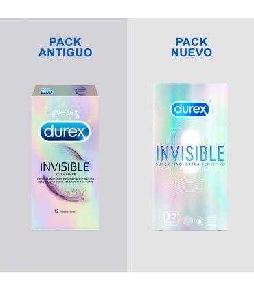 Durex Condones Durex Durex Invisible Sensitivo 12Uds