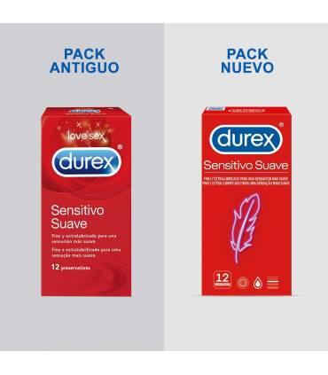 Durex Condones Durex Durex Sensitivo Suave 12 uds