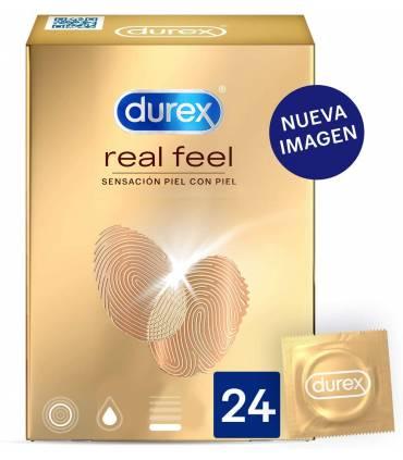 Durex Real Feel sin latex 24 uds