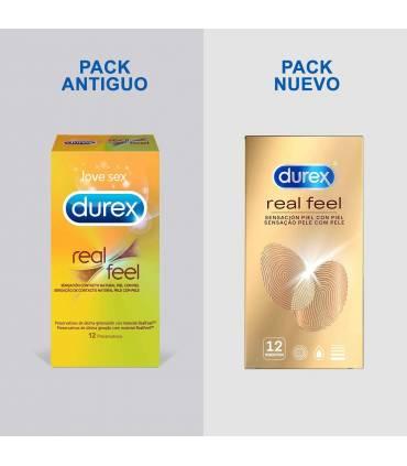 Durex Condones Durex Durex Real Feel Sin Latex 12 ud