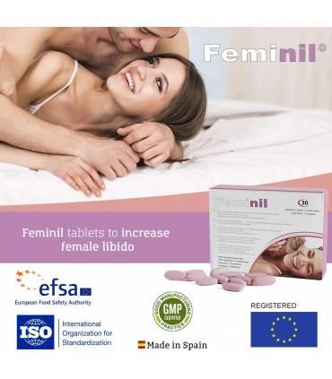 Farmacia Erótica FEMINIL Pastillas para aumentar la excitación