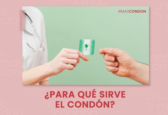 ¿Para qué sirve el condón?
