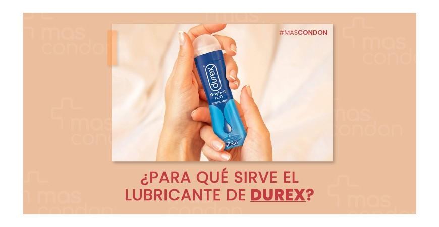 ¿Para qué sirve el lubricante de Durex?