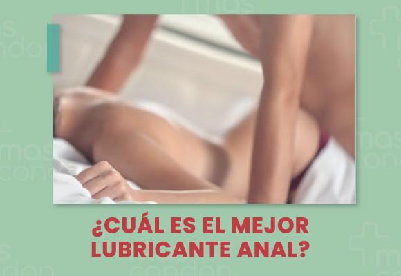 ¿Cuál es el mejor lubricante anal?