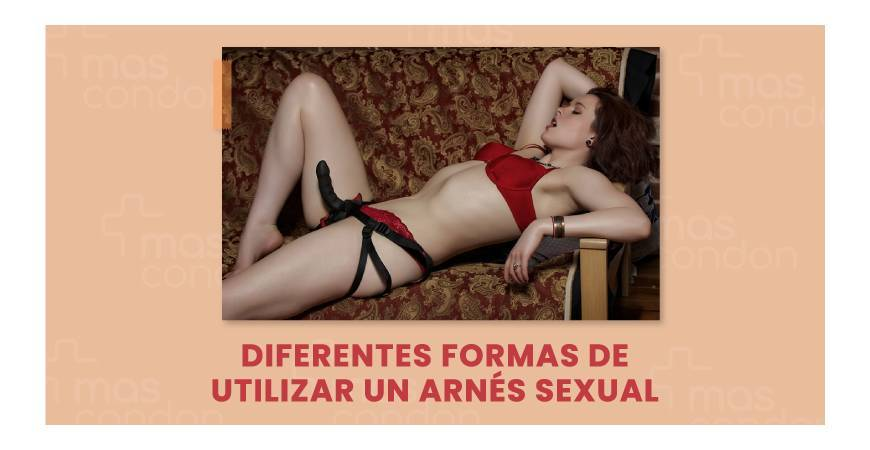¿Para qué sirve un arnés sexual?